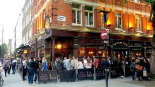 Image result for Fitzroy Tavern Charlotte Windmill Street London